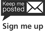 Keep me posted vertical logo
