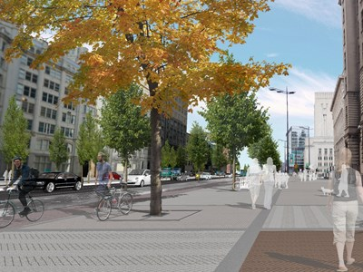 Radical £45m transport scheme for Liverpool City Centre