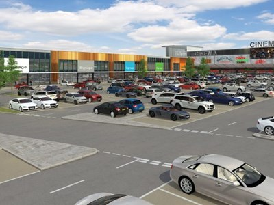 Roadworks begin for £100m shopping upgrade