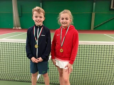 James and Phoebe win in Wales