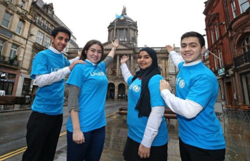 UNICEF UK team
