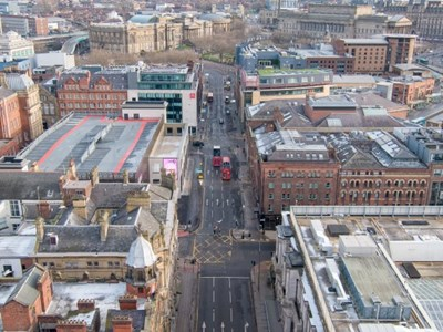 Major city centre roadworks scheme enters new phase