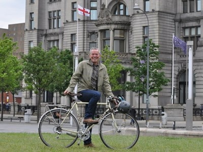 Liverpool appoints TV star as its first cycling champion