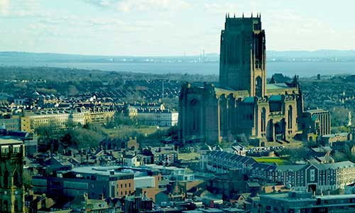 View of Anglican cathedral